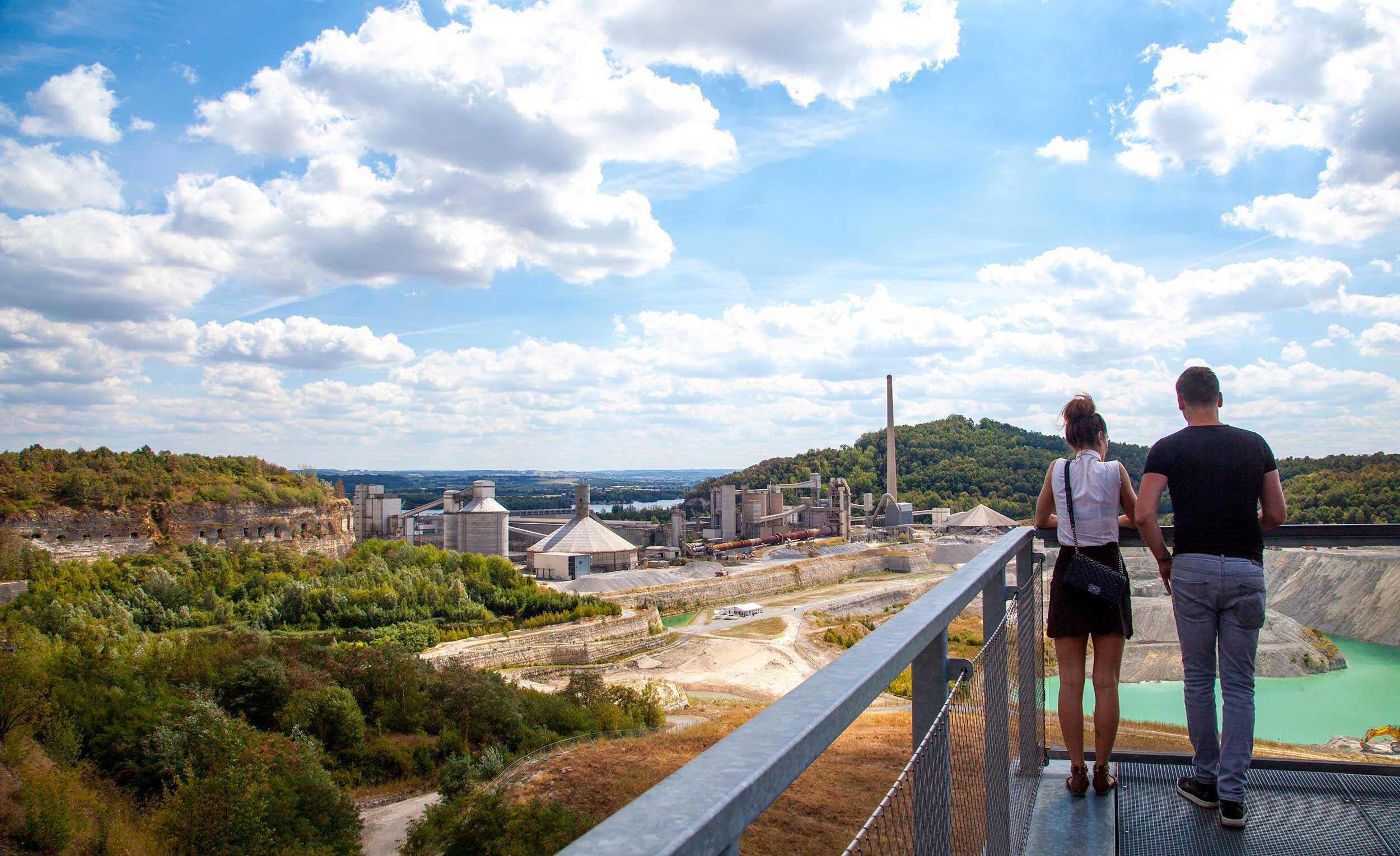 Mosa-E-bike tours-cycling-adventure-sint-pieter-maastricht-enci-groeve-quarry-mine-steengroeve